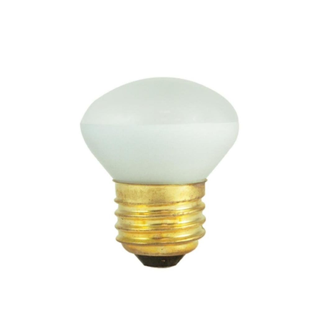 (10 Pack) 25 Watt - R14 Short Neck - Reflector Flood - 120 Volt - Medium/ Standard Base - Incandescent Light Bulb - Bulbrite200025