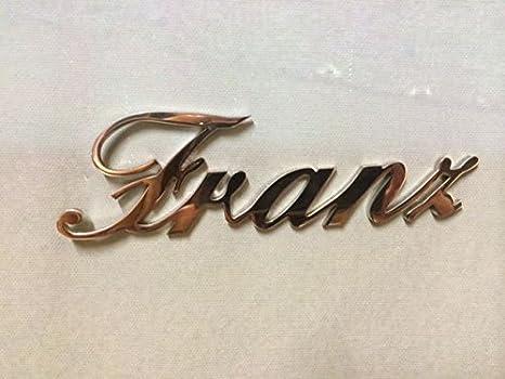 Las letras de acero inoxidable 4 cm etiqueta tumba Logic ...