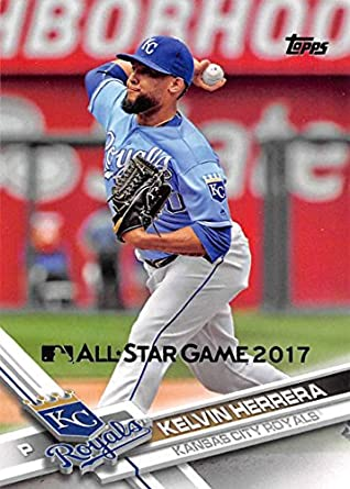 low priced dbdf8 4ceb2 Amazon.com  2017 Topps All-Star Game 2017  357 Kelvin Herrera NM-MT Royals   Collectibles   Fine Art