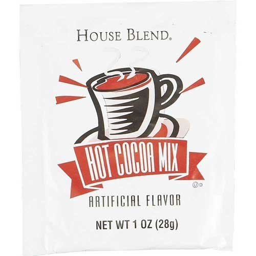 Cafe Delight House Blend Individual Hot Cocoa Mix, 1 Ounce -- 300 per case. by Diamond Crystal