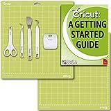 "Cricut Tools Basic Set and 2 Pack Cutting Mats 12"" x 12"" Beginner Guide Bundle"