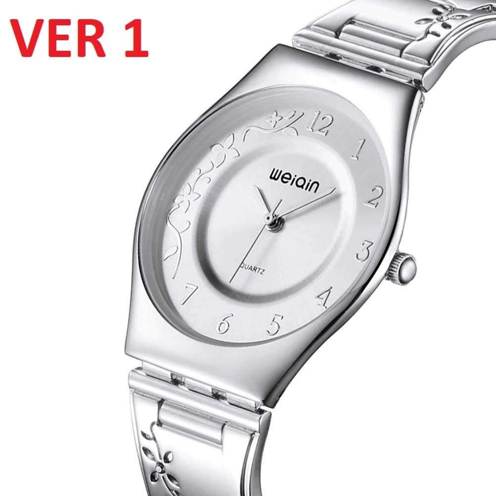 Brand Women Fashion Silver Luxury Dress Stainless Steel Bracelet Quartz Watch Ladies Ultra Slim 6mm Simple Diamond Elegant Hour