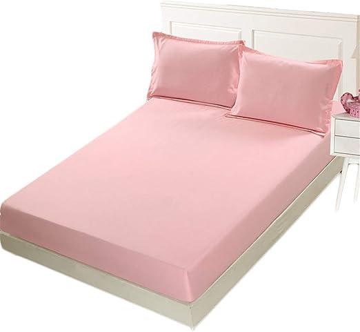 HEYIHUI Comfort sábana Bajera Ajustable 100% algodón con Contorno ...