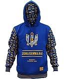 Sigma Gamma Rho Sorority Women's New Style Hoodie Large Royal Blue