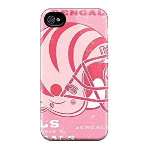 High-quality Durable Protection Case For Iphone 4/4s(cleveland Browns) Kimberly Kurzendoerfer