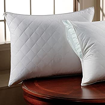 300 tc cotton sateen quilted pillow protector pillow standard
