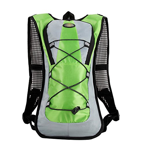 Freedi Hydration Backpack Large Capacity for Keeping Liquid Perfect For Running Cycling Hiking Climbing Pouch (Green)