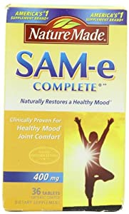 Nature Made SAM-e Complete 400mg, 36 Tablets by Nature Made