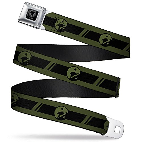 Buckle-Down Seatbelt Belt - Halo Spartan-II Blue Team for sale  Delivered anywhere in USA
