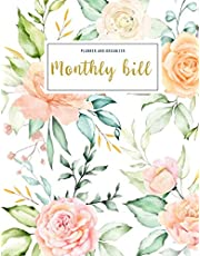 Monthly Bill Planner and Organizer: cash budget book | 3 Year Calendar 2020-2022 Budgeting Planer with income list,Weekly expense tracker ,Bill Planner, Financial Planning Journal Expense Tracker Bill Organizer Notebook Classic Floral Design Gift