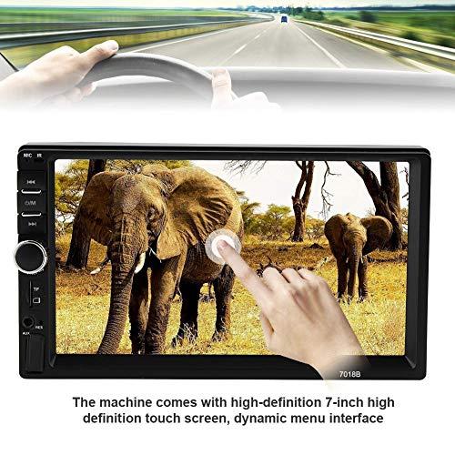 Akozon MP4 MP5 Player 7018B 7'' HD Car MP4 MP5 Player AUX Stereo BT Handsfree LCD FM Radio Remote Control by Akozon (Image #1)
