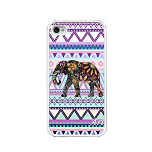 S9Q One Elephant Tribal Pattern New Style Durable Back Case Hard Shell Cover Skin For iphone 5c Style B