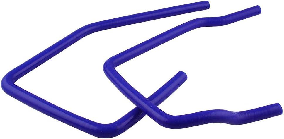 Sporacingrts 3-Ply Silicone Radiator Coolant Ancillary Hose Kit Turbo Intercooler for Subaru WRX 2001-2005 Blue