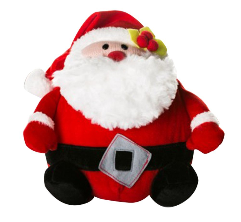 Drasawee Plüsch Gefüllt Santa Claus Weihnachtsmann Stoffpuppe Weiche Spielzeug Kinder Weihnachten Tag Geschenk