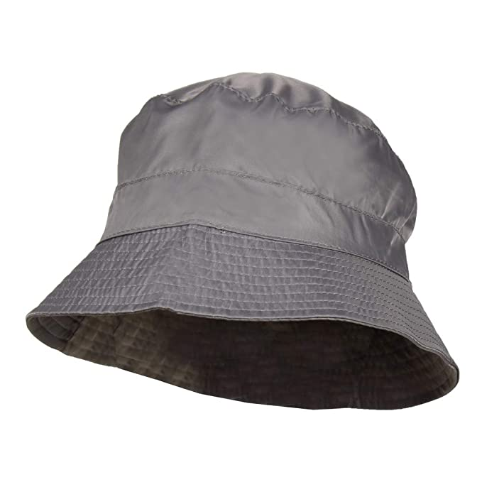 4481748ae Waterproof Packable Rain Bucket Hat, Interior Zip Pocket – Foldable Crusher  Cap