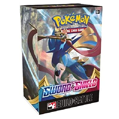 Pokemon Sword and Shield Rebel Clash Build and Battle Box - 5 Booster Packs: Toys & Games