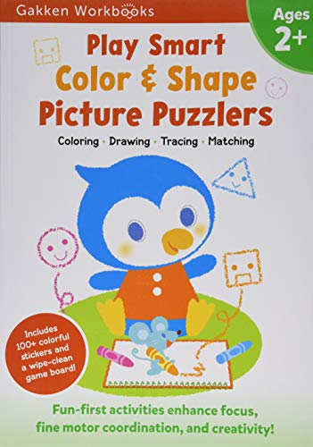 Play Smart Color & Shape Picture Puzzlers 2+