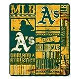 Oakland Athletics 50x60 Fleece Blanket - Strength Design