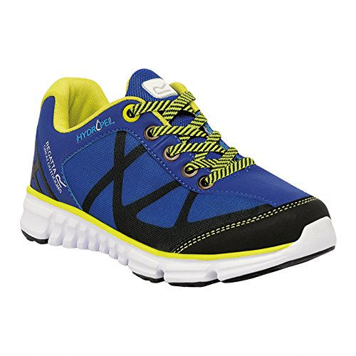Regatta Boys Hypertrail Low Junior Light Breathable Walking Shoes Surf/Lima Brillante