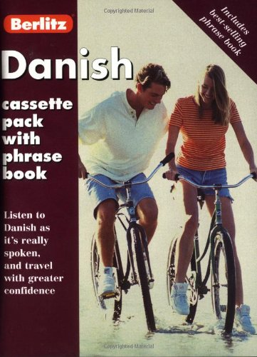 Danish Cassette Pack with Phrase Book