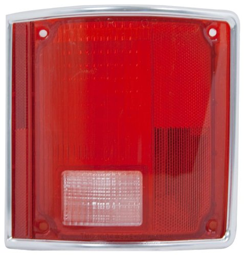 OE Replacement Chevrolet/GMC Passenger Side Taillight Lens (Partslink Number - Tail Chevrolet Lens Light K10
