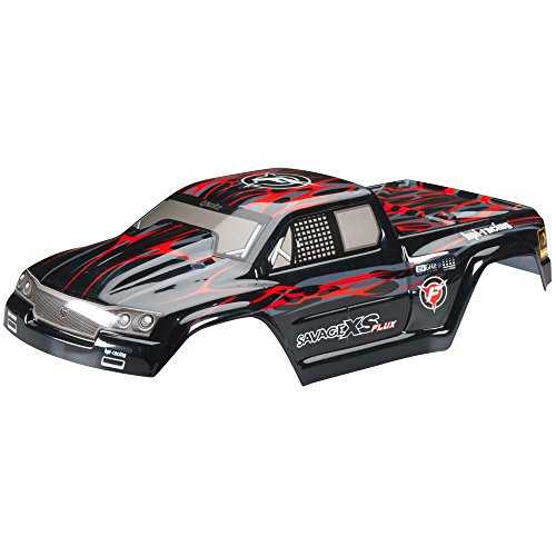 Hobby Products International 105274 GT-2XS Painted Body, Red/Black/Grey
