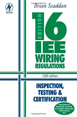 16th Edition IEE Wiring Regulations Inspection Testing u0026 Certification Amazon.co.uk Brian Scaddan IEng; MIIE (elec) 9780750665414 Books  sc 1 st  Amazon UK : wiring regulations uk - yogabreezes.com