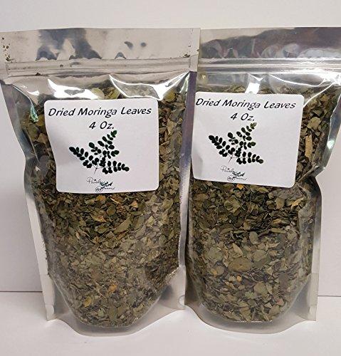 Dried Loose Moringa Leaves (8 Oz/226+ Grams)