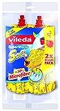 Vileda Supermocio Soft Mop Twin Pack Refill
