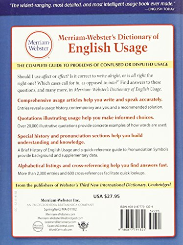 Merriam Websters Dictionary Of English Usage Import It All