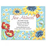 New Horizons Moving Announcements Postcards - Set of 24, Personalized with Address, 5-1/4'' x 4'', New Address Cards, Just Moved Cards, Moving Announcements