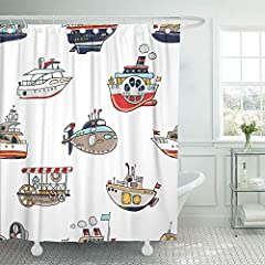 Package included:1 X Shower Curtain12 X Plastic HooksA perfect gift idea for your mom,dad, children, grandma,wife,husband and all other beloved ones with thousands of surprising designsNote: Because of the different monitors in each computer ...