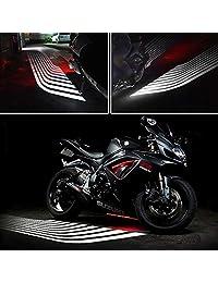 Luces LED auxiliares de control de alas de ángel para coches, motocicletas, Jeep, camiones, todoterreno, bicicleta, Kawasaki, Harley, ATV, SUV, vehículo y barco
