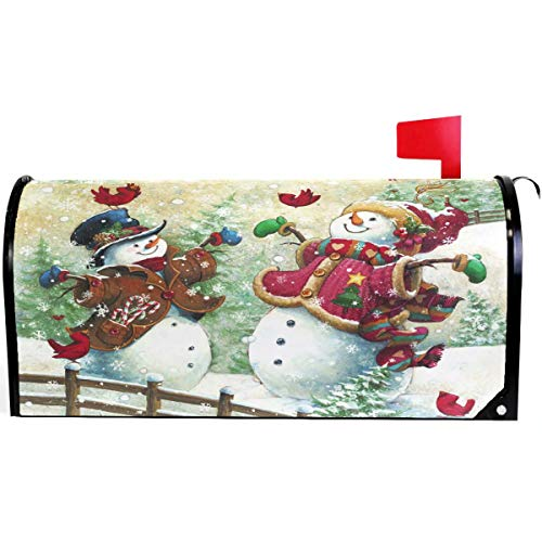 Best oversized mailbox covers magnetic christmas for 2020