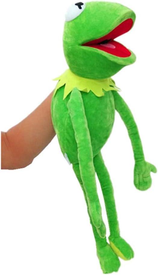 GHTYN Juguete De Peluche, Cartoon The Muppets Kermit Frog Plush Toys Soft Boy Doll For Children Birthday Gift, The Muppets Kermi Plush Frog,Marionetas De Felpa Suave 40cm