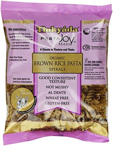 (Tinkyada Organic Brown Rice Pasta, Spirals, 12 Oz)
