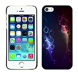 Cubierta de la caja de protección la piel dura para el Apple iPhone 5 / 5S - Colors