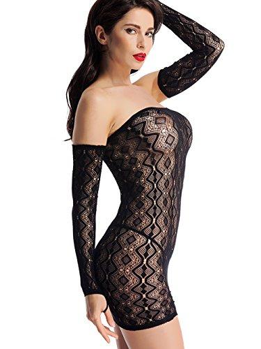 Net Tube Dress - 1