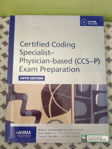 Certified Coding Specialist-Physician Based (CCS-P) Exam Preparation