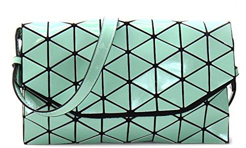 Bag Crossbody Lattice Green Shard Geometric tqZ4Rx8wUC