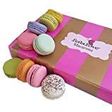 Leilalove Macarons - 15 Parisian Macaron Collections of 10 Flavors - Pink Gift box