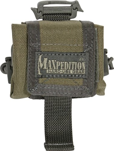 Maxpedition Mini Rollypoly Folding Dump Pouch (Khaki-Foliage)
