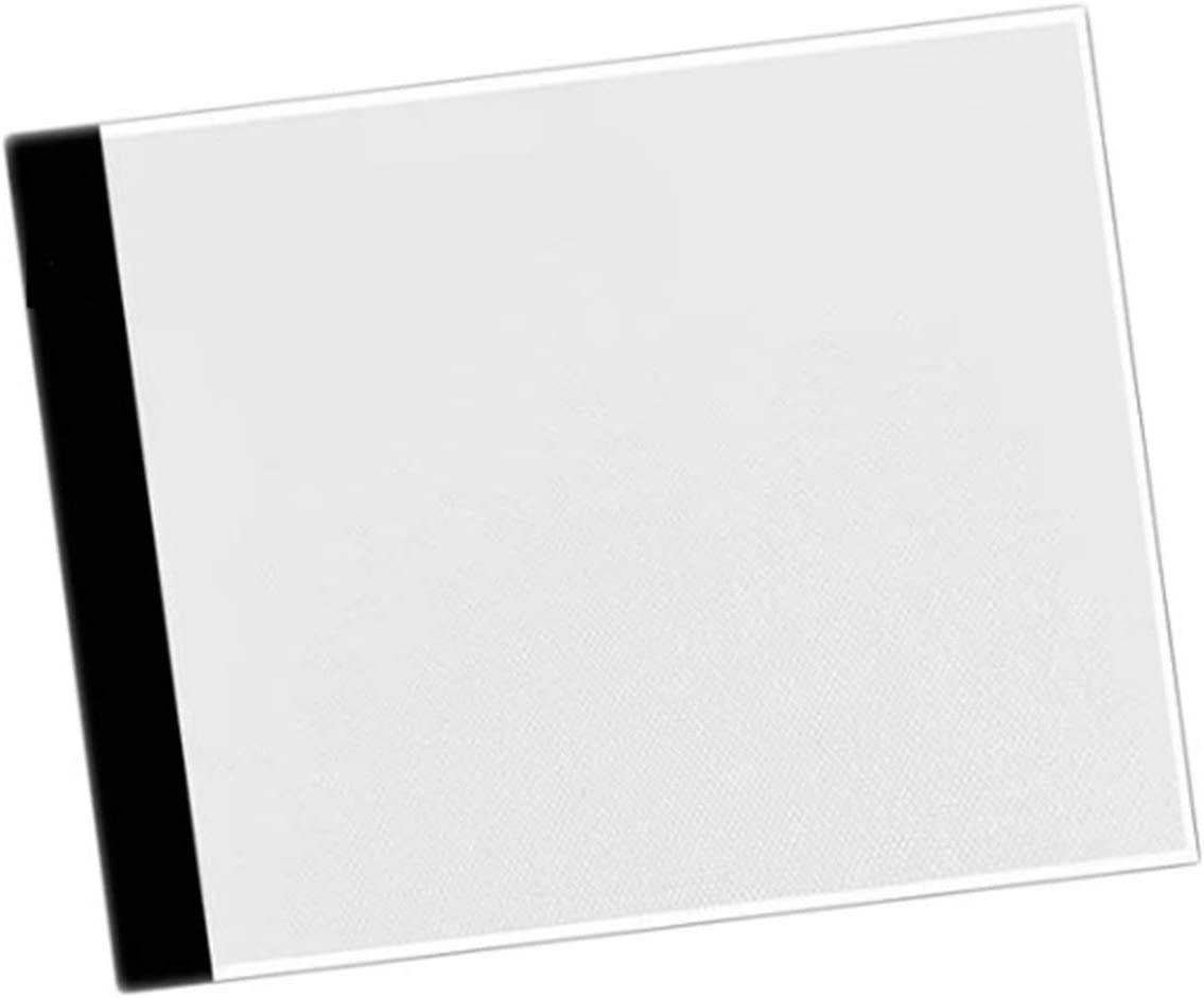 YUIO Ultra-Mince A4 LED Peinture Conseil tra/çage Copie Pad Panneau Dessin Tablette Art Artcraft Pochoir pour Artiste dessinateur Blanc et Noir