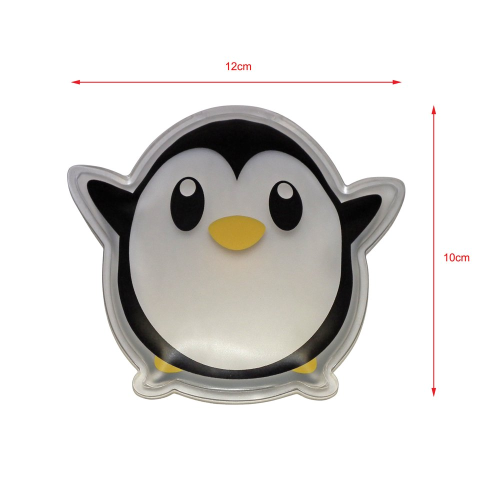 Cute Kids Reusable Hot/Cold Pack - Pengy The Penguin (10x12cm) Dynamik Healthcare