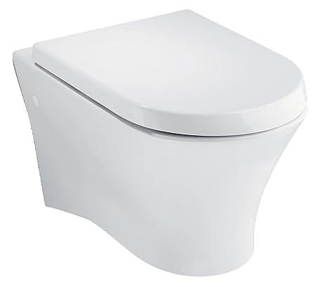 Roca Nexo Wall-Mounted WC Pan: Amazon co uk: DIY & Tools