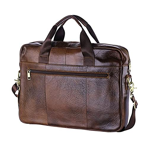 78eef7af620b good POLO VIDENG M278 Men s Classic Top Cow Genuine Leather Business  Handbag Briefcase Shoulder Messenger Satchel