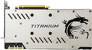 MSI GeForce GTX 1070 Ti Titanium 8G 8 GB GDDR5 - Tarjeta ...