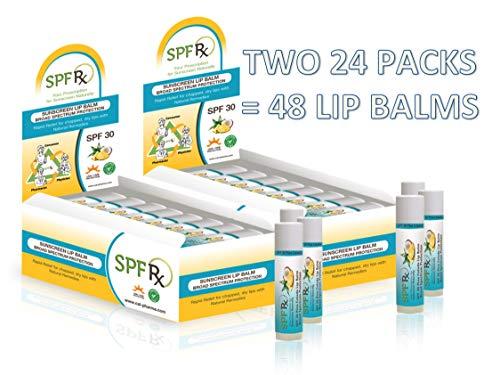 SPF 30 Pina Colada Lip Balm (48-Pack)