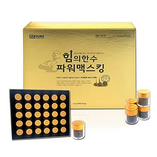 [Samsung Pharm]Power Max King 4g*30EA 1Box/Maca/Yagwanmoon/Taurin/L-Arginin/Korean ingredients
