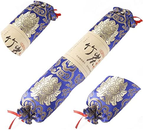 Black Temptation [100% Damask] Charbon de Bois rempli de Fleurs Bleu foncé Imprimé 1pc Oreiller Double Durable